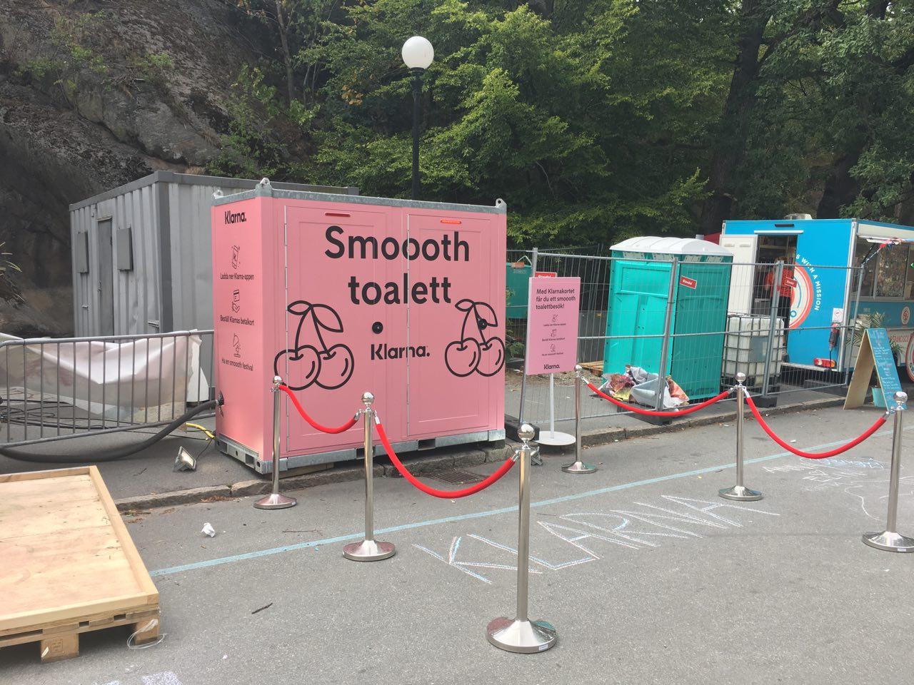 VIP-toalett