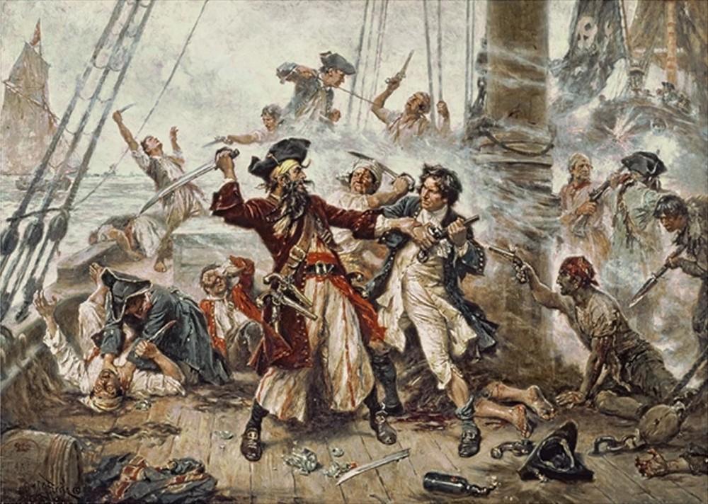 Hotet fran pirater minskar